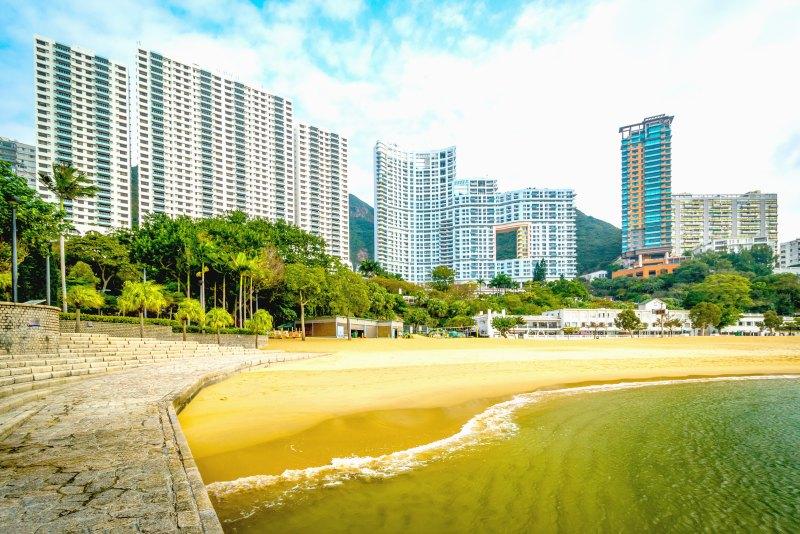 Hong Kong Yacht Charter - urban beach escape