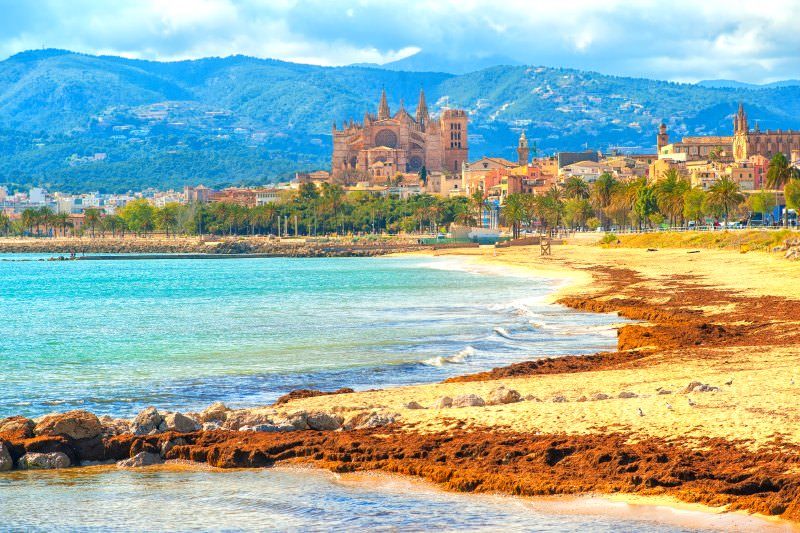 Mallorca yacht charter - urban beach escape