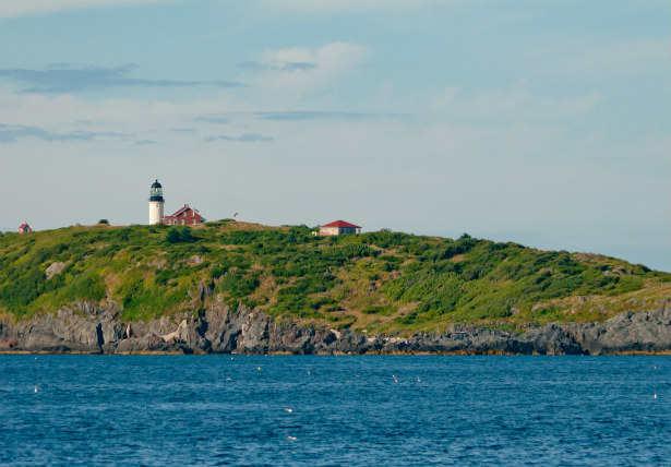 New England yacht charter - Seguin Island Maine