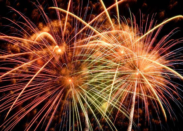 North Carolina fireworks