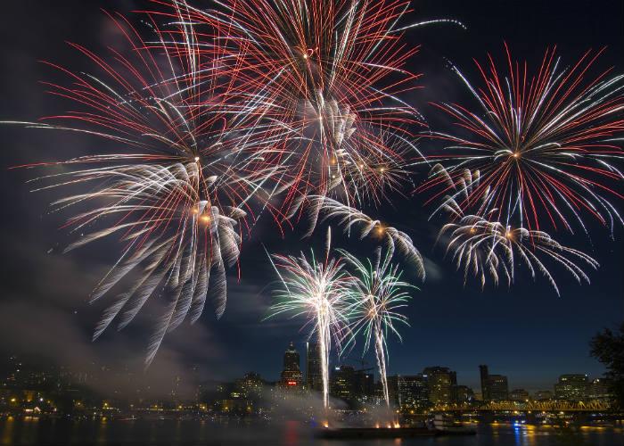 Portland Oregon Fireworks