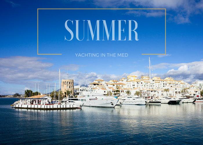Summer Mediterranean yacht charter