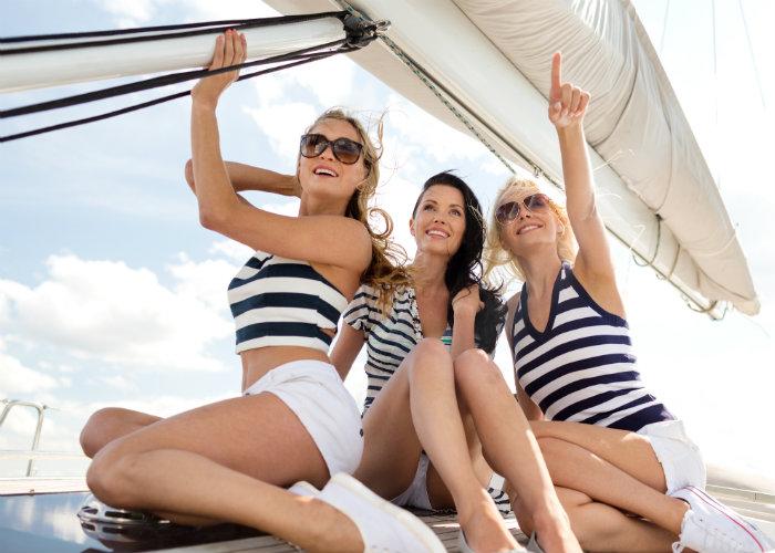 girls getaway yacht charter - boat