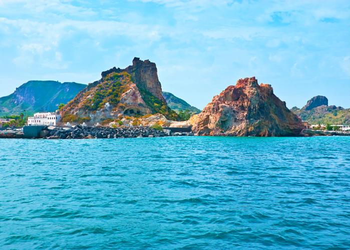 Aeolian Islands yacht charter - Vulcano Island