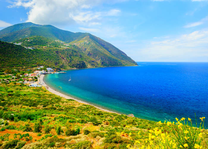 Aeolian Islands yacht charter escape - Filicudi