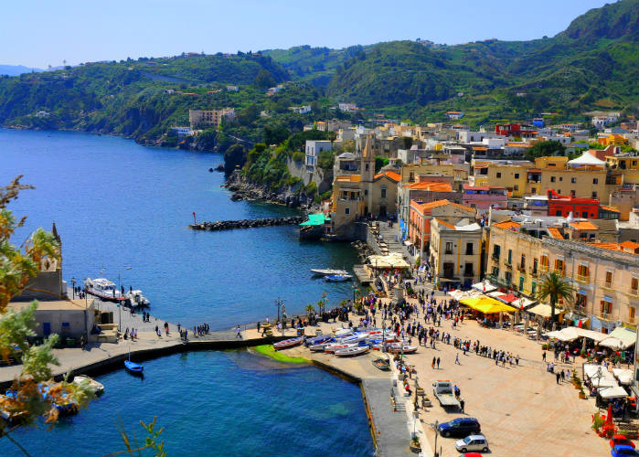 Aeolian Islands yacht charter escape - Lipari