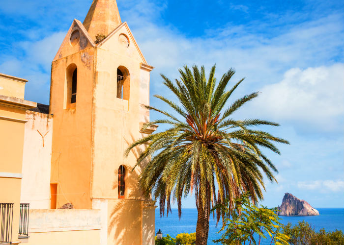 Aeolian Islands yacht charter escape - Panarea