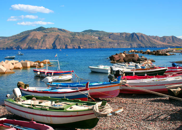 Aeolian Islands yacht charter escape - Salina
