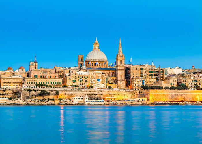 malta yacht charter - valetta