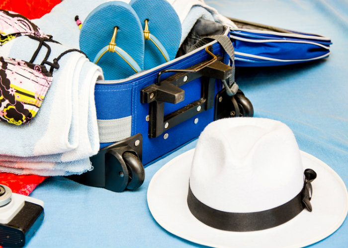 yacht charter packing list - luggage