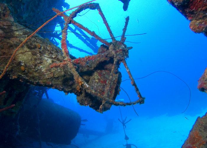 yacht charter wreck dives - Bonaire