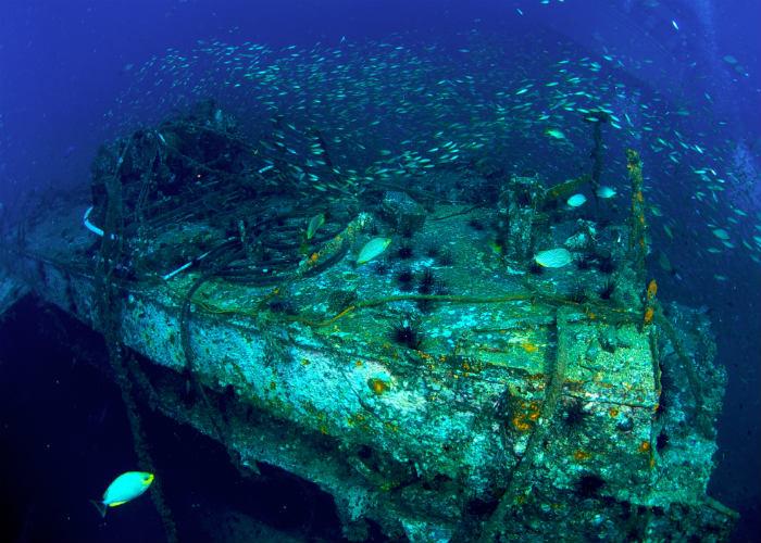 yacht charter wreck dives Thailand
