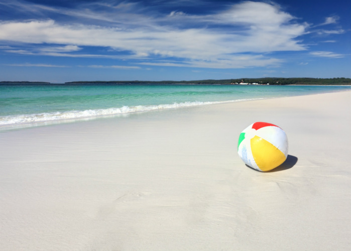 Hyams Beach - whitest beach