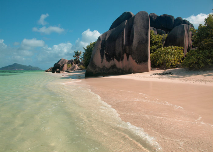 Seychelles yacht charter - colored beaches